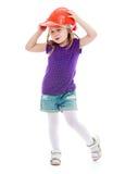 Foto dello studio dei bambini concentrare Fotografia Stock