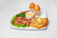 Foto dello studio della prima colazione inglese Immagine Stock