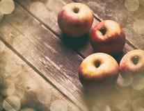 Foto der Äpfel Lizenzfreie Stockbilder