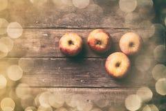 Foto der Äpfel Lizenzfreies Stockfoto