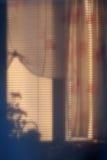 Foto der abstrakten Kunst eines Fensters Stockfotografie