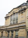 Foto der alten Architektur und der Sonderkommandos von Brüssel builing stockbild