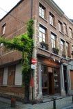 Foto der alten Architektur und der Sonderkommandos von Brüssel builing lizenzfreie stockfotografie