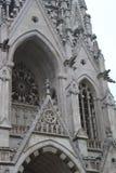 Foto der alten gotischen Architektur in Brüssel lizenzfreie stockfotos