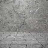 Foto der alten Wände und des Fliesenbodens Lizenzfreies Stockfoto