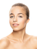 Foto der attraktiven jungen Frau Lizenzfreies Stockbild