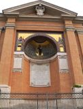 Foto der Basilika von St. John Lateran in Rom Lizenzfreies Stockfoto