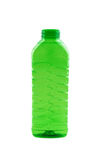 Foto der grünen Plastikflasche Stockfotos