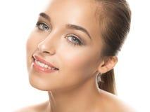 Foto der jungen Frau der Schönheit Lizenzfreies Stockfoto