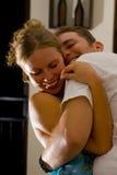 Foto der Paare in der Liebe Lizenzfreie Stockfotografie