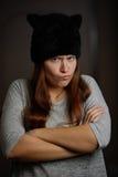 Foto der schönen jungen Frau Stockfotografie