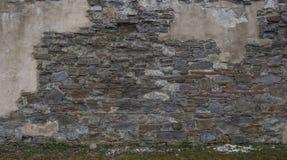 Foto der Teilsteinwand Stockfotos