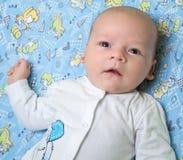 Foto des alten Babys des Monats Lizenzfreies Stockfoto