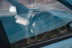 Foto des Armaturenbrettes im Auto stockfotos