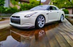 Foto des Autospielzeugs lizenzfreies stockbild