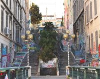 Foto des Einheimischen ein Einheimisches passway in Paris Stockfotos