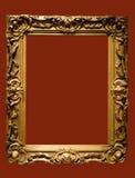 Foto des gealterten goldenen Abbildung fram Lizenzfreie Stockbilder