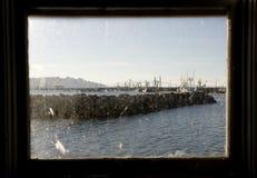 Foto des Ostverankerungs-Bassins, Astoria Oregon stockfotos