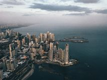 Foto des Panama-Stadt Teils 3 lizenzfreie stockfotografie