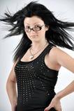 Foto des schönen Mädchenporträts lizenzfreie stockfotos