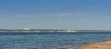 Foto des touristischen Bootes Stockfoto