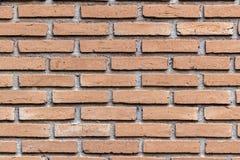 Foto detaied textura da parede de tijolo vermelho imagens de stock