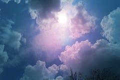 Foto di bello cielo Immagini Stock Libere da Diritti