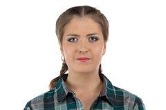 Foto di giovane donna dell'agricoltore Fotografia Stock