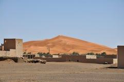 Vilage del deserto Fotografia Stock Libera da Diritti