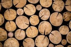 Foto di legno naturale Immagini Stock