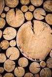 Foto di legno naturale Fotografie Stock
