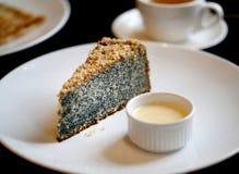 Foto di macro dolce delizioso del papavero Fotografia Stock