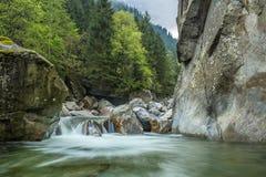 Foto di mattina del fiume fotografia stock