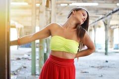 Foto di modo di bella donna Fotografia Stock