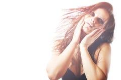 Foto di modo di bella donna Immagini Stock