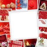 Foto di Natale con lo spazio della copia Fotografia Stock Libera da Diritti