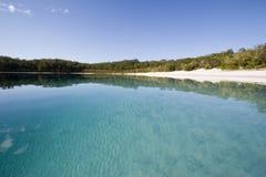 Foto di paesaggio del mckenzie 2 del lago Fotografie Stock