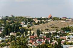 Foto di panoramica della città Immagini Stock Libere da Diritti
