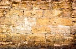 Foto di parete di pietra ruvida molto vecchia per fondo fotografia stock libera da diritti