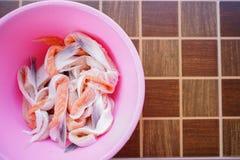Foto di riserva - aletta di color salmone Fotografia Stock Libera da Diritti