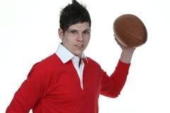 Foto di riserva dell'uomo di rugby immagine stock
