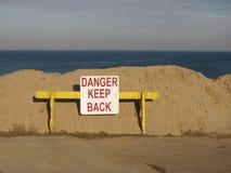 Foto di riserva della palude litoranea Fotografia Stock