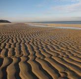 Foto di riserva della sabbia di struttura Immagini Stock