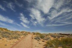 Foto di riserva di formazione rocciosa rossa, sosta nazionale degli archi Fotografia Stock