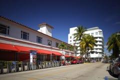 Foto di riserva di Lincoln Road Miami Beach FL Immagine Stock Libera da Diritti