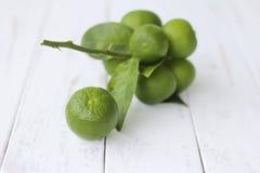 Foto di riserva: Limone fresco isolato su bianco Fotografia Stock Libera da Diritti