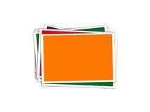 Foto di riserva, polaroid Immagine Stock