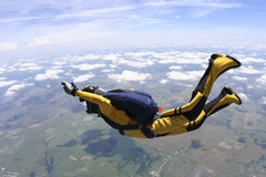 Foto di Skydiving. Fotografia Stock Libera da Diritti