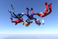 Foto di Skydiving. Fotografie Stock Libere da Diritti