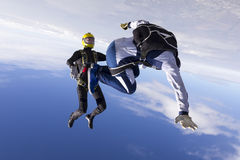 Foto di Skydiving fotografia stock libera da diritti
